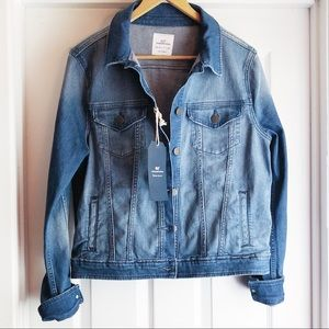 Vineyard Vines Blue Beach Wash Denim Jacket Medium